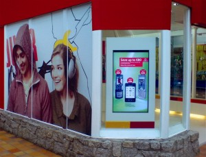 Retail Store with Digital Signage