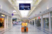 Digital Signage in Shopping Centre